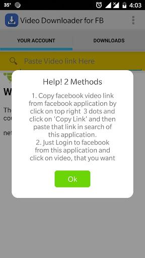 Video Downloader for Facebook (Fastest) 1.4 screenshots 1