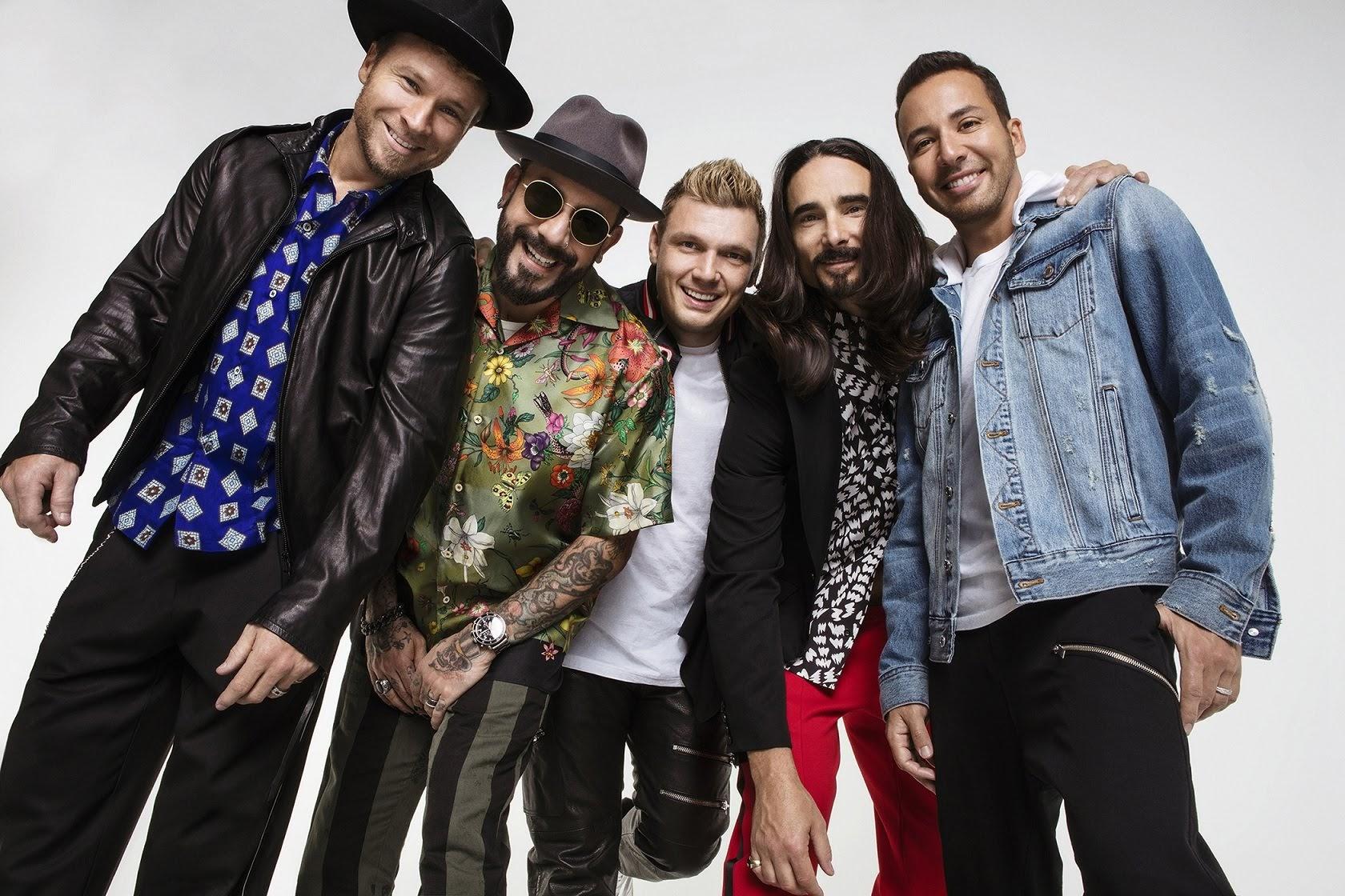 [迷迷演唱會] 90年代不敗神話 新好男孩 Backstreet Boys 10月完整體再度攻台開唱