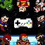 2 3 4 Heroes – Avengers Multiplayer Arcade Game icon