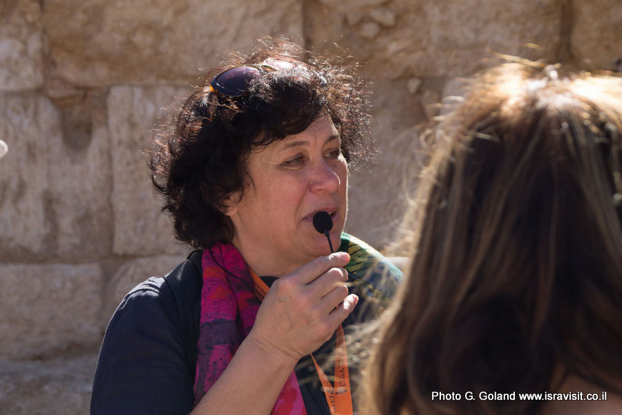 Гид в Израиле Светлана Фиалкова. Экскурсия в Иродион.