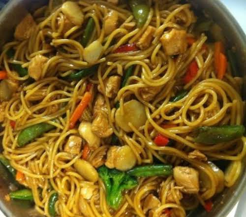 """Stir Mein (stir fry/lo mein) """"Love this recipe - so easy and..."""