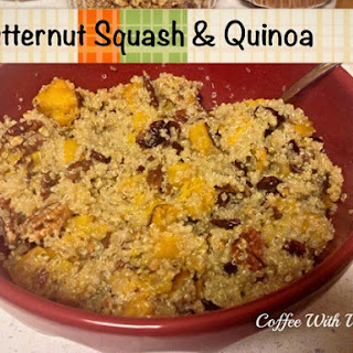 Butternut Squash & Quinoa.