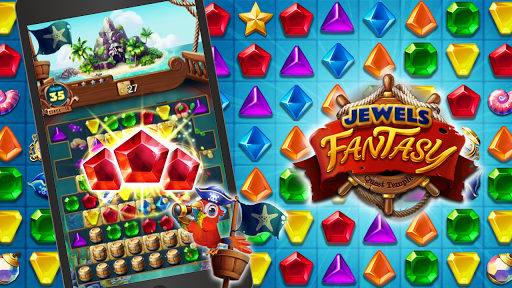 Jewels Fantasy : Quest Temple Match 3 Puzzle 1.6.7 screenshots 1