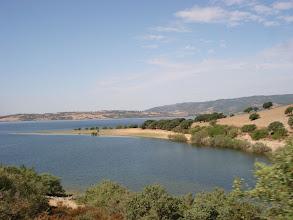 Photo: le lac de Coghinas