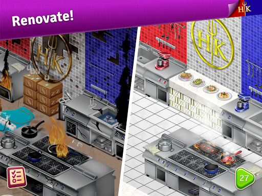Hell's Kitchen: Match & Design apkpoly screenshots 13