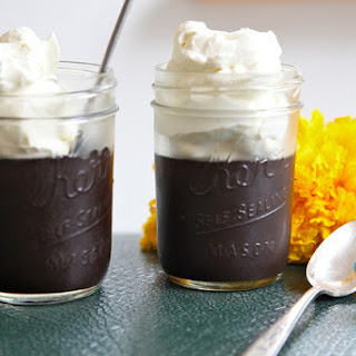 Midnight Black Chocolate Pudding.