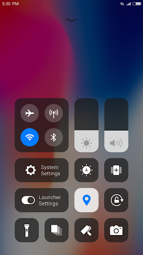 iLauncher for IOS 11 - Stylish Theme and Wallpaper for PC