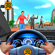 Taxi Driver Game - Offroad Taxi Driving Sim