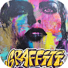 Graffiti Wall - Street Art & Text Editor icon
