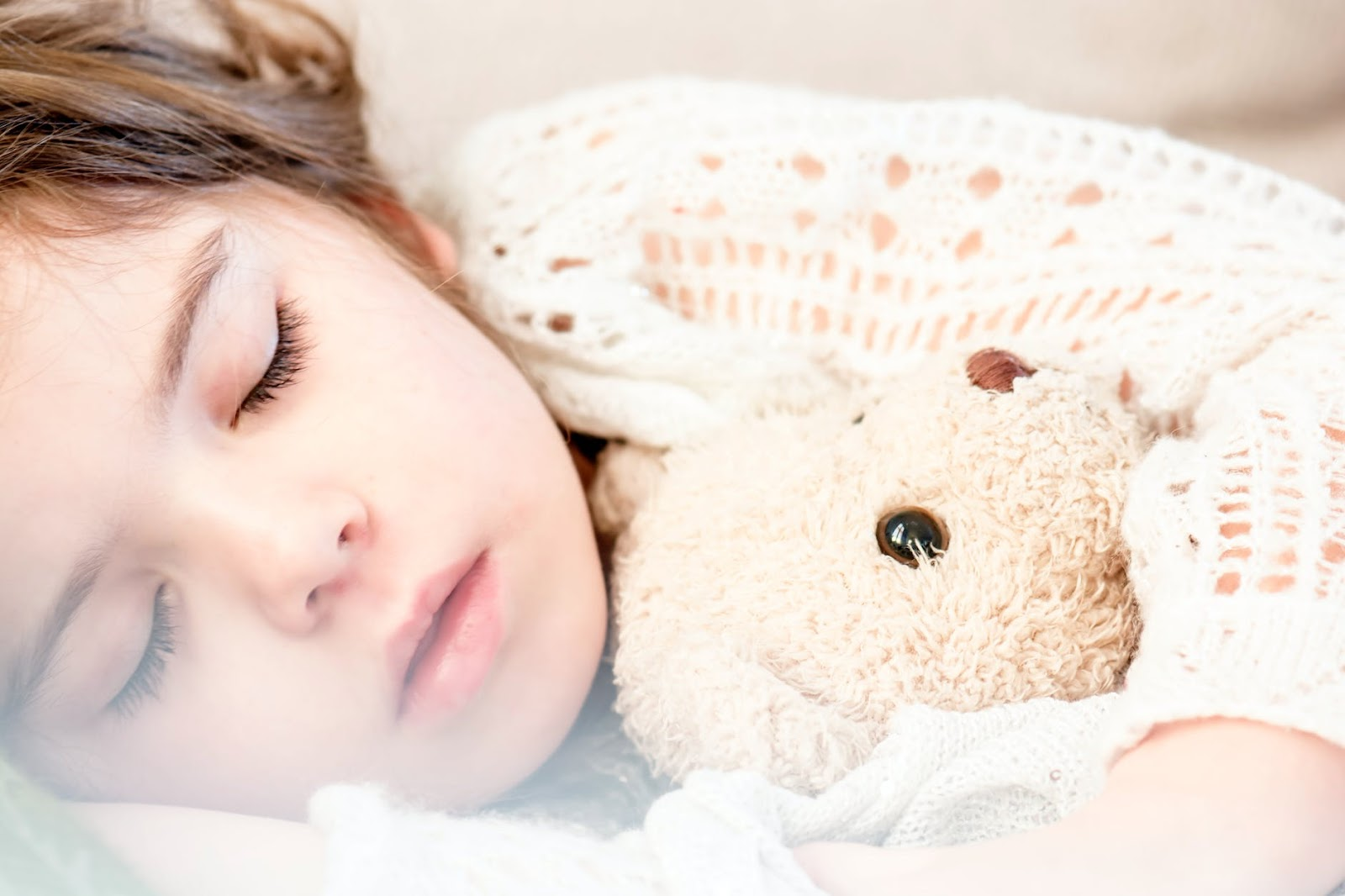 A good solid routine and sleep will help a child's mental health.