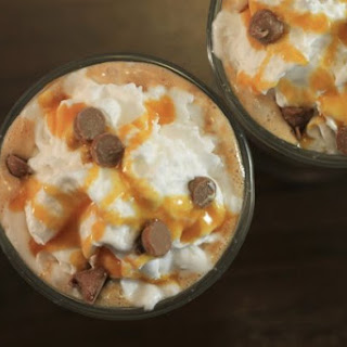 Salted Caramel Hot Chocolate + Spiked Version!