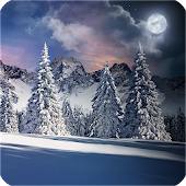 Winter Snowfall Day Night Real 3D FREE Christmas