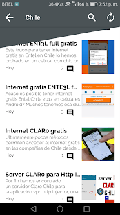 internet gratis android 2018 Screenshot