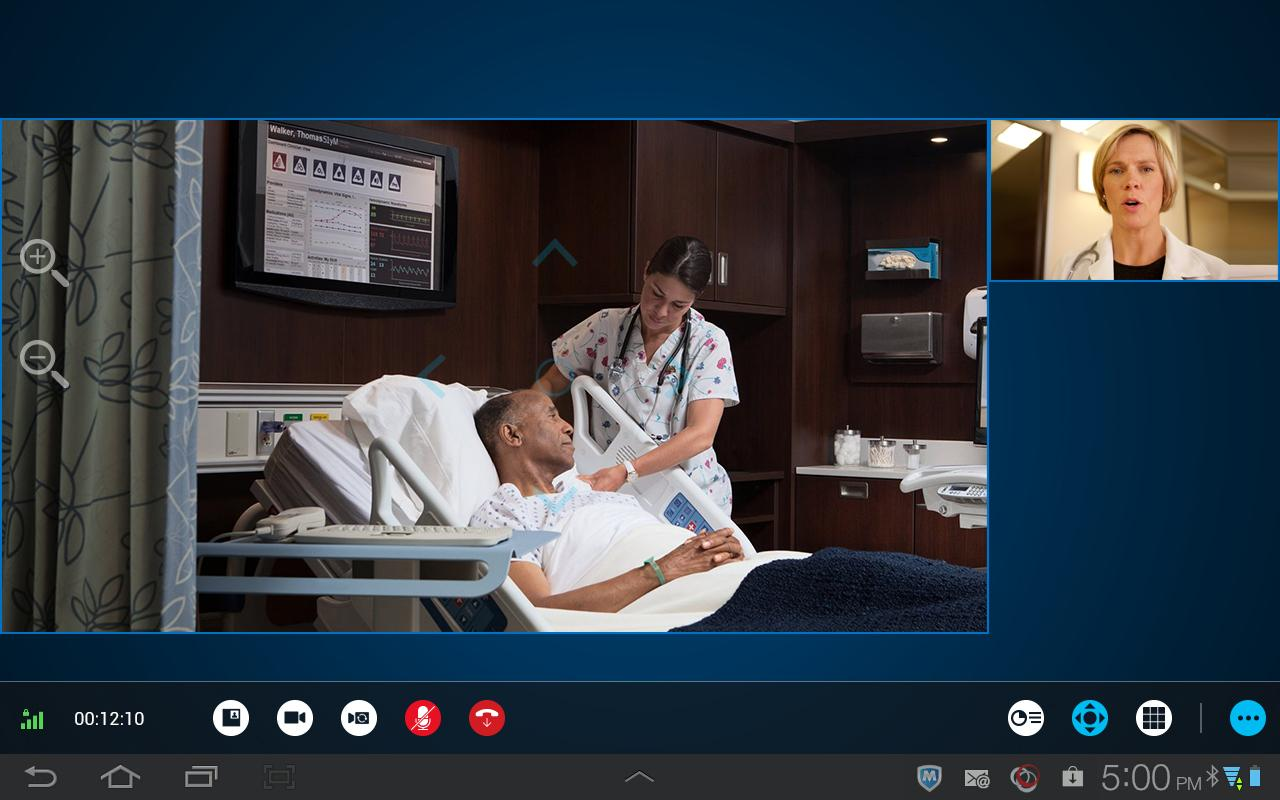 RealPresence Mobile - Tablet - screenshot