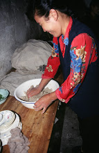 Photo: 03538 土城子/食堂/ユウマイ押し出し麺作り