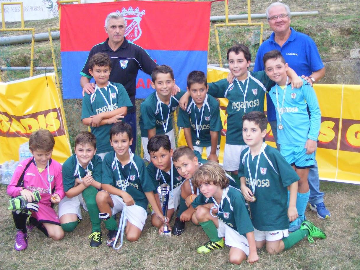 ADR Numancia de Ares. Torneo F-8. VIII MEMORIAL PEDRO GARCÍA. Campeón Benjamines Galicia de Mugardos