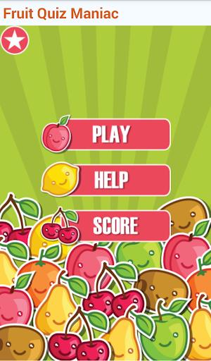 Fruits Quiz Maniac