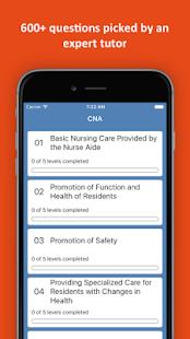 CNA Practice Test - náhled