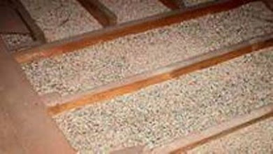 Photo: EPA (stock photo from EPA's fact sheet) announced that vermiculite insulation in attics may contain tremolite asbestos.  Tremolite asbestos is a difficult material to analyze.  FED's asbestos consulting service can advise you on handling this particular problem.