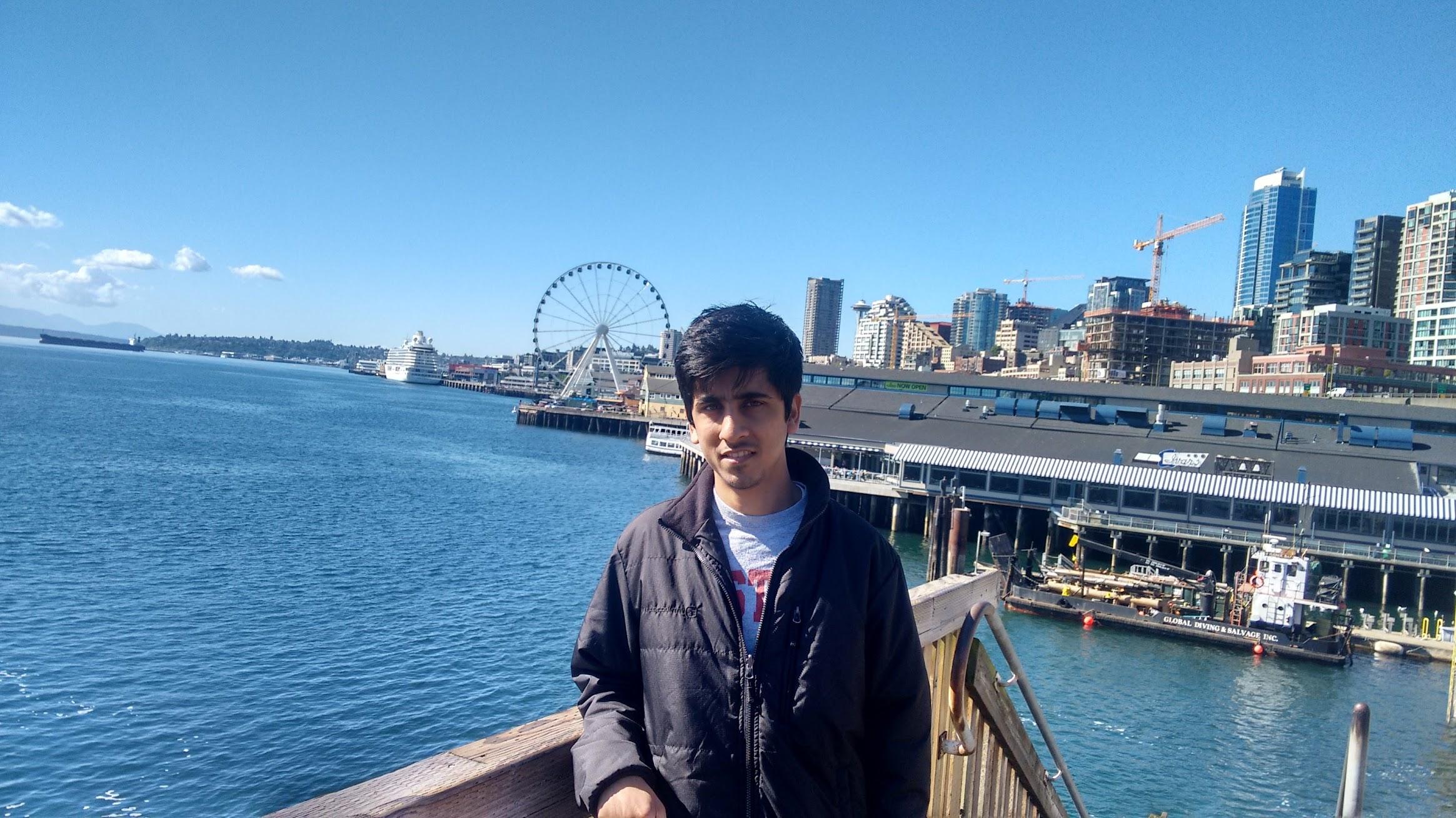 Rajat Shah Seattle Big wheel