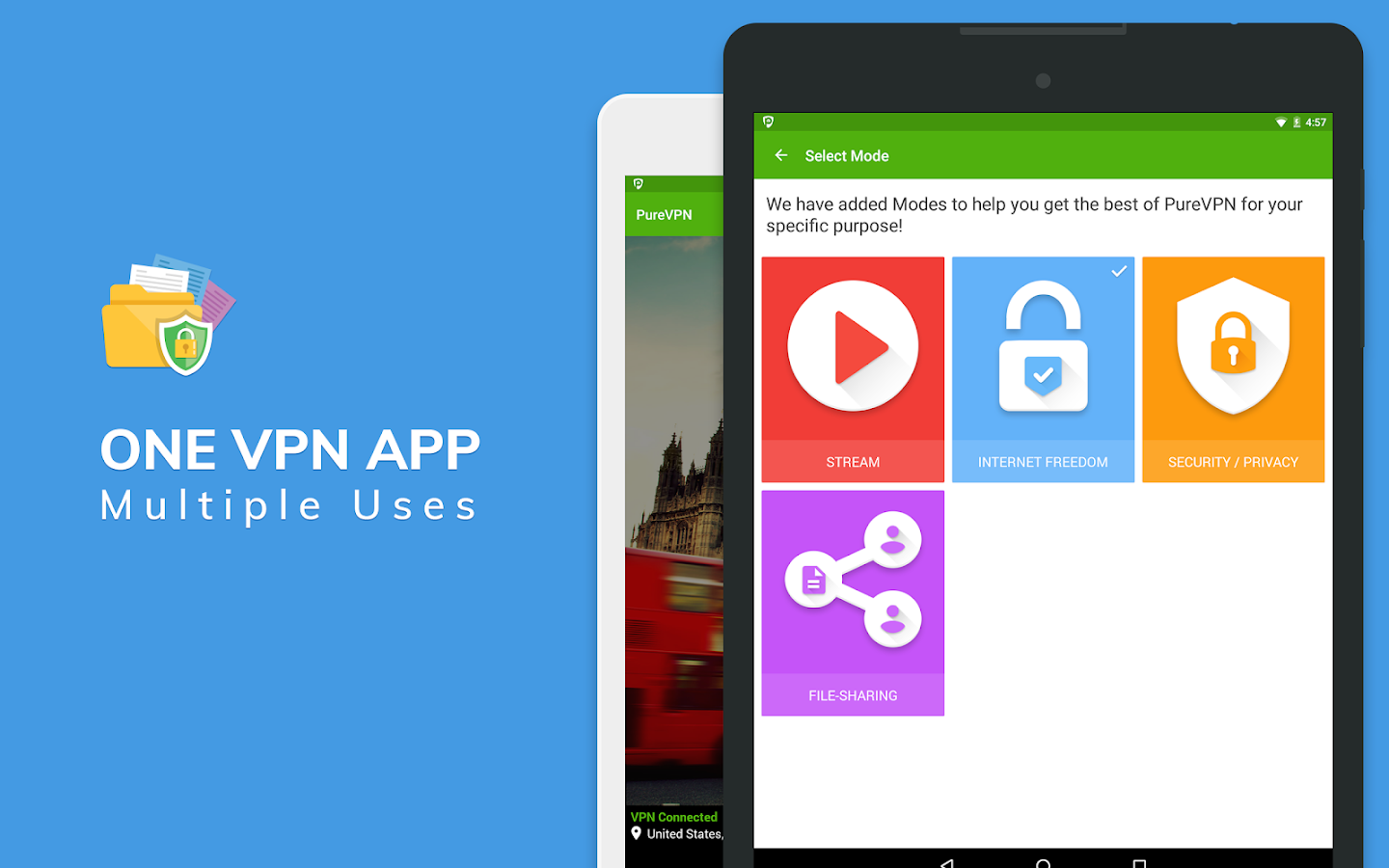 PureVPN - Best Free VPN- screenshot