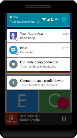 android Your Radio App Demo Screenshot 4