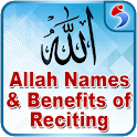 Allah Names with Audio Offline, Wazaif & Wird icon
