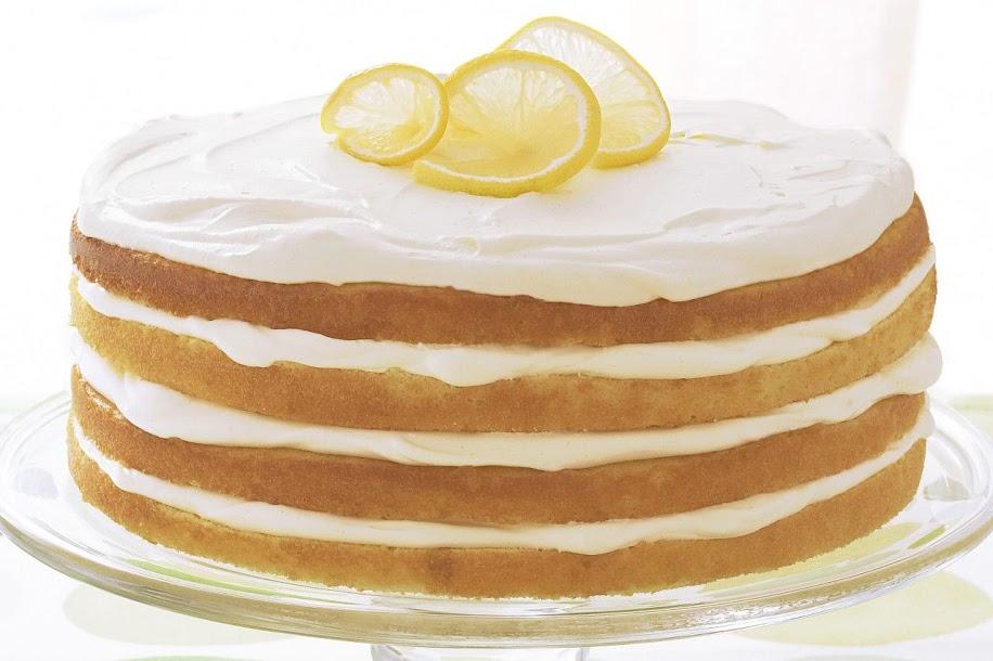 Naked Cakes: Triple-Lemon Layer Cake