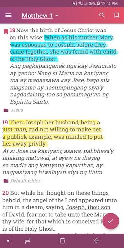 English Tagalog Bible KJV - Offline & Free 12.1 screenshots 2