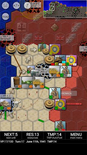 Rommel & Afrika Korps (free)  screenshots 3