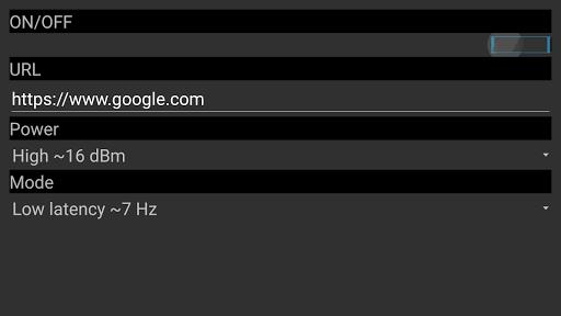 EddyStone-URL sender