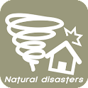 Natural disasters icon