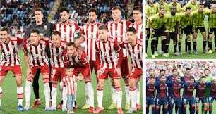 Almería, Zaragoza y Huesca buscan una plaza de ascenso directo.