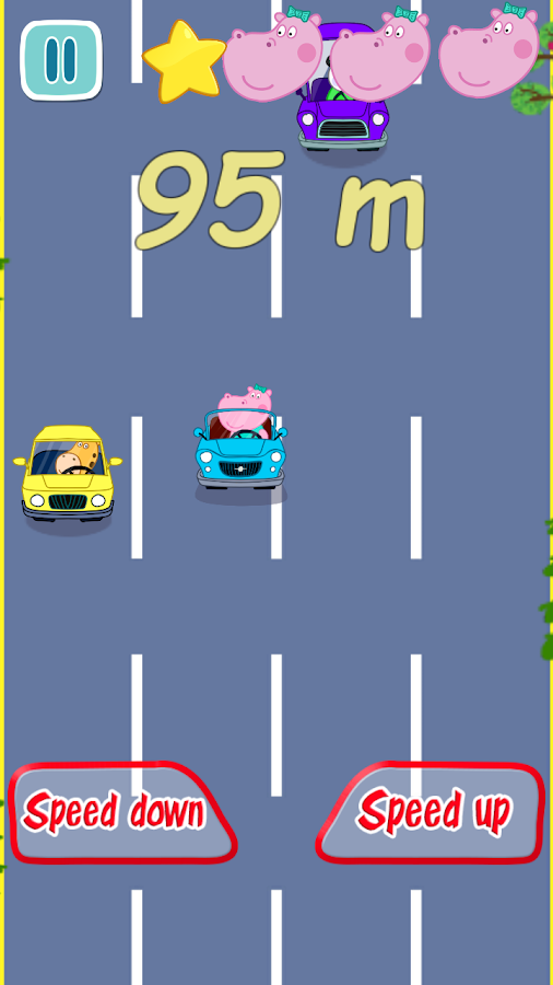 Baby Car Racing- screenshot