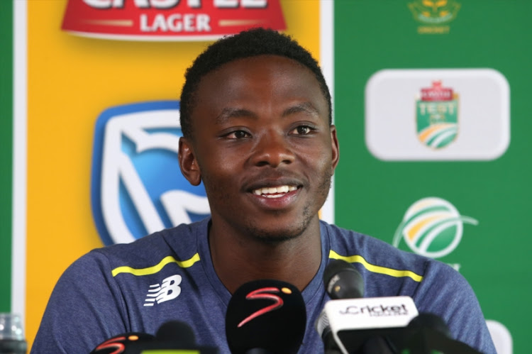 Kagiso Rabada lays down the law