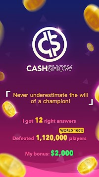 Cash Show - Win Real Cash! APK screenshot thumbnail 5