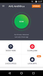 AVG AntiVirus 2018 for Android Security APK screenshot thumbnail 1
