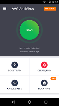 AVG AntiVirus FREE For Android APK screenshot thumbnail 1