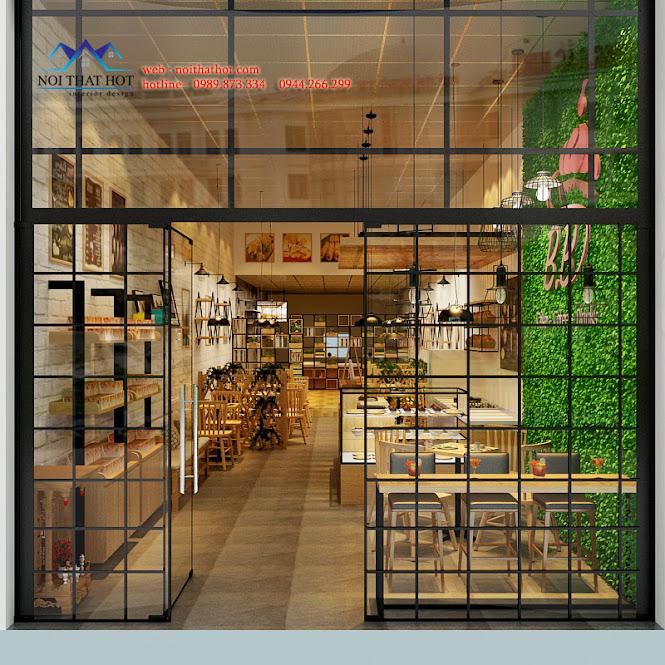 thiết kế quán cafe đẹp cá tính đầy cuốn hút