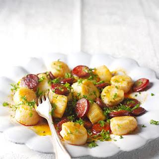 Scallops and Chorizo Recipe