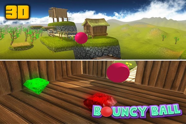 Bouncy Ball 3D - screenshot
