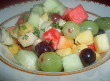 Robin's Fresh Fruit Salad Recipe