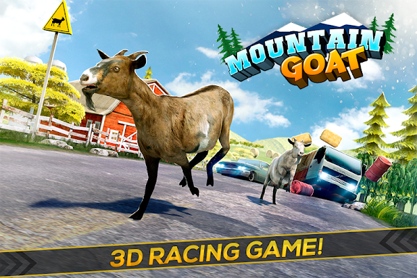 Mountain Goat Simulation Game - screenshot