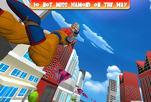 3D Super Dragon Fly Dash