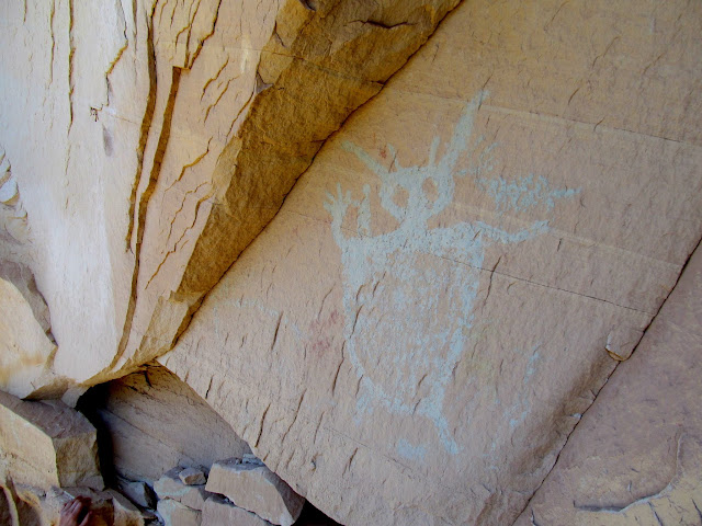 Green Man pictograph