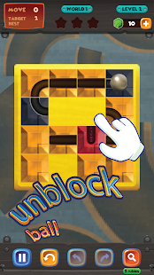 unblock u ball : side way out puzzle - náhled