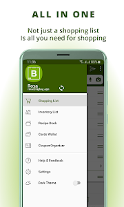 Grocery list, card coupon wallet: BigBag Pro 8.1 (Paid)