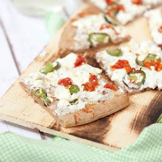 Jalapeno Popper White Pizza #SundaySupper