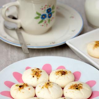 R for Rice Flour Cookies | Naan Berenji | Egg Less Persian Rice Flour Cookies.