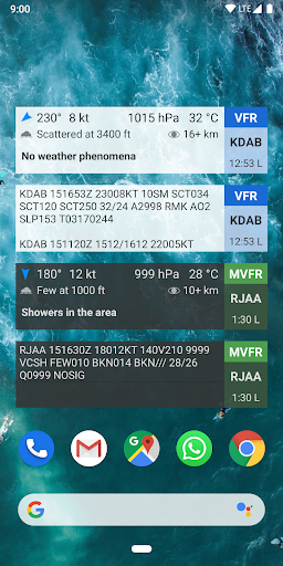 Avia Weather - METAR & TAF 2.11.6 Screenshots 6